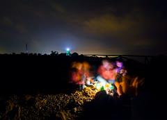 (Adriano Agull) Tags: friends light amigos luz reunion night faro noche gente grupo 8mm ovni oscuro santapola peleng ojodepez carabass nikond7000 alertaovni2012