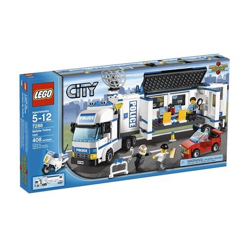 乐高 LEGO 城市系列 Mobile Police Unit 7288 流动警署$39.99