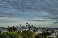 Rainier Views (Andrew E. Larsen) Tags: seattle sky kerrypark papalars andrewlarsen andrewlarsenphotography kerryparkmystique