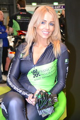 Ellie, Promo Girl (Tanvir's Pics 2010) Tags: show city manchester ellie motorbike event insurance principal 2014