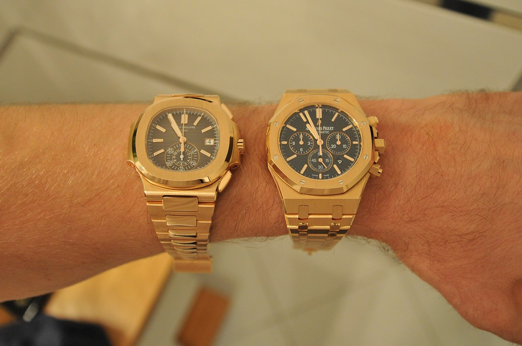 The World's Best Photos of audemars and rose