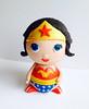 wonderwoman (CakeFreak) Tags: woman cake wonder superhero topper fondant gumpaste