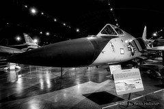 F-106 (HD_Keith) Tags: blackandwhite bw usa blackwhite arms aircraft military transport transportation government oh usaf dayton weapons jetfighter warplane f106 airtransportation armaments