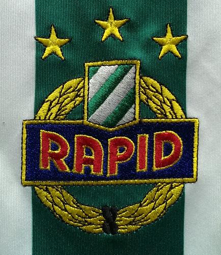 SK Rapid Wien match worn shirt 2009/10 Yasin Pehlivan