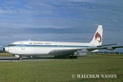 B707-321 VP-BDF BAHAMAS WORLD (shanairpic) Tags: dublin boeing707 b707 jetairliner vpbdf bahamasworld