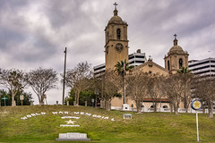 In memory of those who served (Jims_photos) Tags: trees clouds outside downtown texas cloudy outdoor memories daytime lightroom corpuschristicathedral oldmemories jimallen corpuschristitexas adobelightroom texascoast txpark