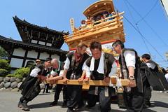 Speed and Power (Teruhide Tomori) Tags: people festival japan event  float  gifu ogaki  ogakifestival importantintangiblefolkculturalproperties