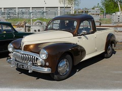 PEUGEOT 203 Pick-up (transformation) (xavnco2) Tags: france cars club french automobile transformation pickup normandie autos custom normandy peugeot 203 oneshot bbb twotone 2016 seinemaritime bicolore neufchatelenbray rtromcanick
