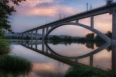 bridge day (Rainer Schund) Tags: bridge sunset nature architecture clouds see nikon wasser day nebel natur architektur brcke cloudporn ilmenau ilmtal ilmkreis langewiesen nikond700 naturemasterclass natureexploring