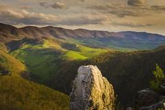 Fifty (popago) Tags: trees mountain green rocks view hills westvirginia serene landsape viaferrata