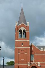 2016-05-07 (95) bell tower and steeple at St John the Apostle Catholic Church (JLeeFleenor) Tags: tower church bells photography virginia catholic photos belltower steeple va leesburg