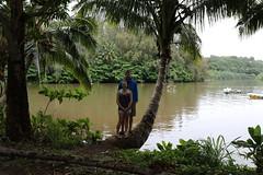 Jeff and Lindsay At Hanalei Bay (fethers1) Tags: kauai hanalei hanaleibay kauaivacationmay2016