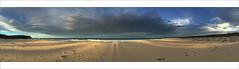 Just Me and My Shadow (caralan393) Tags: sunset cloud beach shadows phone pano moruya