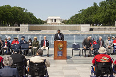 VE Day 2016 At The WWII Memorial  (276) (smata2) Tags: monument washingtondc dc memorial warmemorial veday nationscapital nationalworldwartwomemorial wwiiveteransremembrance