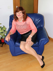 IMG_9405 (Victoria Reich 63) Tags: sexy stockings leather st pumps transformation legs tights skirt crossdressing tgirl transgender sissy tranny transvestite pantyhose crossdresser ladyboy shemale strumpfhosen feminization mtf travestie cder feminofilia