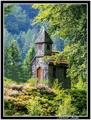 chapelle St Jacques   Kichompr (De Bretagne et d'ailleurs) Tags: france fort vosges clocher bardage canon28135 grardmer canon400d chapellesaintjacques kichompr