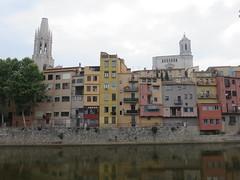 20150505 Gerona Espagne - Rives de l'Onyar-002 (anhndee) Tags: spain espagne gerona gerone