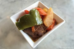 Beef Stew with Radish, Carrot & Capsicum (Vinchel) Tags: food singapore indoor kee loy iphone 6s