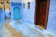 IMG_3633 (rachel_salay) Tags: city blue morocco chefchaouen