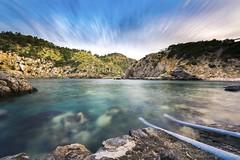 Cala D'en Serra - Ibiza (Amar Sood) Tags: longexposure holiday seascape landscape nikon paradise wideangle ibiza nikkor d610 1424