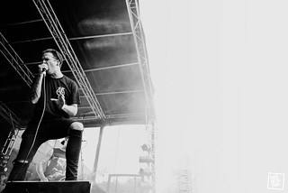The Amity Affliction @ Slam Dunk South, 30.05.16 // Shot by Jennifer McCord