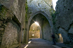 Ghost (Ray Moloney Photography) Tags: county old travel ireland blur building green history tourism abbey rock architecture ancient long exposure arch culture arches eire historic hore tipperary cashel 500px ifttt