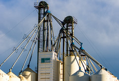 Hopper-ville (D.Spence Photography) Tags: industrial feeders oilgas hoppersystem