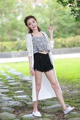 DP1U7593 (c0466art) Tags: light portrait cute beautiful canon pose big model eyes pretty action outdoor gorgeous young taiwan lovely charming elegant  1dx c0466art