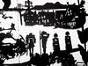 MBosley_LostBoysdetail3 (TheWayThingsWere) Tags: silhouette paperart silhouettes papercut papercuts papercutting mollybosley
