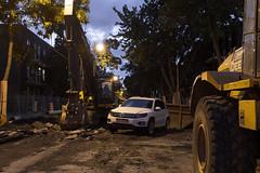 Réalité urbaine (THE-K-PROJEKT) Tags: street urban vw canon volkswagen eos mtl montreal 6d rline tiguan