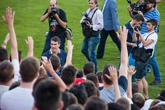 Presentacin Zapater (18 de 33) (Fernando Soguero) Tags: nikon soccer sigma zaragoza futbol realzaragoza d5000 fernandosoguero fsoguero feranndosoguero