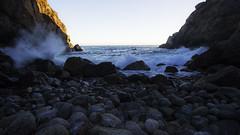 Partington Cove (Alec (Rebel T3i)) Tags: ocean rock pose coast highway rocks mood power pacific cove candid pch partington oceanpower