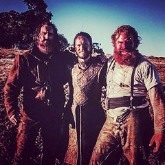 Dean S. Jagger, Kristofer Hivju and Kit Harrington after BoB Download Our App - https://goo.gl/eDFq7f http://dlvr.it/Ld5xmR Get Our App http://ift.tt/26WBEtr (GameofThronesFreak) Tags: house game fashion tv williams sophie emilia peter lena styles series got natalie kit now turner fandom hbo clarke maisie nikolaj s06 thrones jons dormer waldau dinklage coster harington headey season06 targaryen tumblr danaerys thegotfans