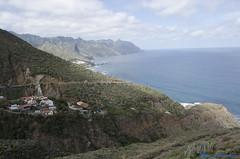 DSC_0068 (AlfredoGutirrez) Tags: blue sea naturaleza mountain nature azul trekking mar paisaje tenerife montaa senderismo naturalpark parquenatural anaga roquesdeanaga