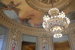 Paris (sobodda) Tags: paris palaisgarnier ceiling chandelier