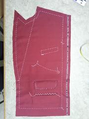 Zakkenpand (Jane Starz) Tags: sewing tailoring basting dressmaking
