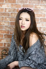 _DSC0323 (rickytanghkg) Tags: portrait woman sexy girl lady female studio asian model pretty sony chinese young picnik a550