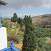 Paros rooms - the view - Lefkes Village