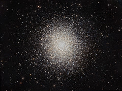 "M13 The ""Great"" Globular Cluster in Hercules (CCD+DSLR Combo) (Terry Hancock www.downunderobservatory.com) Tags: camera sky color monochrome wheel night canon stars photography pier backyard fotografie photos marathon space cluster ngc great shed science images astro moore observatory telescope filter astronomy imaging dslr messier ccd universe 13 cosmos technologies hercules paramount teleskop astronomie 500d byo 6205 globular deepsky starlightxpress flattener astrotech Astrometrydotnet:status=solved qhy5 t1i qhy9 Astrometrydotnet:version=14400 blinkagain mks4000 gt110s Astrometrydotnet:id=alpha20120483499062 10f8ritcheychrtienastrographat2field"