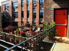 New York Loft Hostel - terraza (Trigui) Tags: new york nyc ny newyork loft hostel