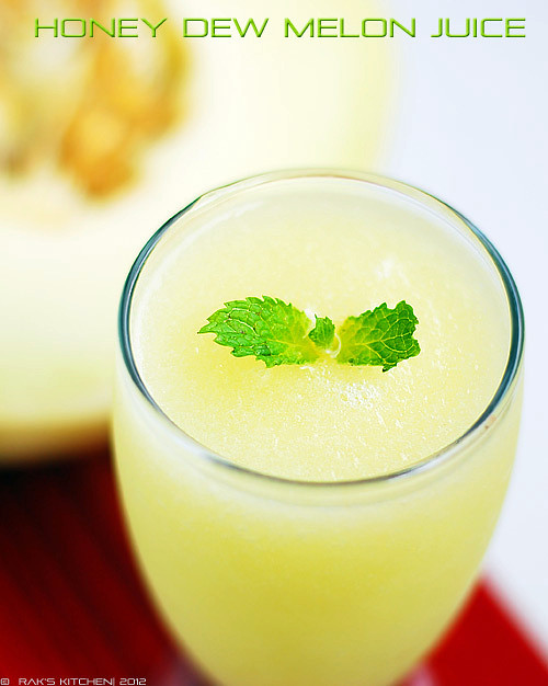 Honeydew-melon-smoothie