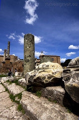 """Roman Forum • <a style=""""font-size:0.8em;"""" href=""""http://www.flickr.com/photos/89679026@N00/6970746054/"""" target=""""_blank"""">View on Flickr</a>"""