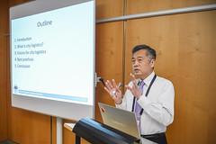 Professor Eiichi Taniguchi presenting