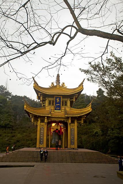 CHINA Leshan Sichuan province Mount Emei Monastry 2793 AJ20