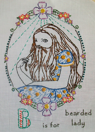 B is for Bearded lady