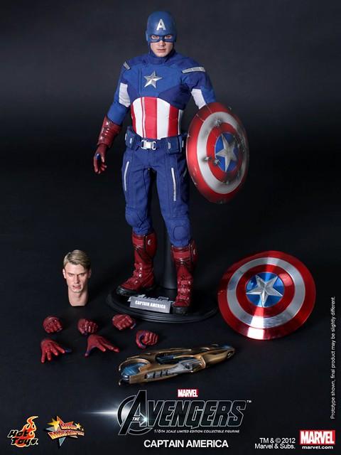 Hot Toys MMS174 復仇者聯盟:美國隊長