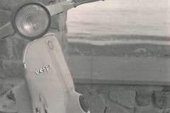 Vespa # Lipari (henrichinaski) Tags: blackandwhite vespa fed2 analogue sicilia lipari aeolianisalands