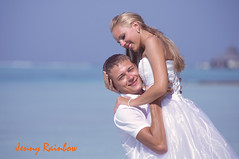 Yulia and Alexander. Sun Island Resort, Maldives (Jenny Rainbow_PhotoSessions) Tags: ocean wedding summer people woman sun man art love beach water girl beauty smile hat lady youth fun island rainbow model nikon couple holidays honeymoon young clarity happiness sunny lagoon exotic human blond tropical destination tropic rest weddingdress maldives vacations carefree clearwater crystalwater elegance caucasian d300 whitedress honeymooners whitehat resort man sun weather photography wedding jenny hair beautiful woman fine handsome model release blond photosession