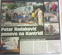 Petar Radaković ponovno na Kantridi (Novi List, 02.06.2012)