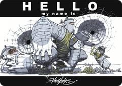 hello (Pixeljuice23) Tags: graffiti sketch can friendlyfire wacked pixeljuice